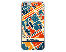 Islamabad Map Phone Case - Islamabad iPhone Case - iPhone 6 Case - iPhone 6 Plus Case