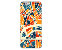 Moscow Map Phone Case - Moscow iPhone Case - iPhone 6 Case - iPhone 6 Plus Case