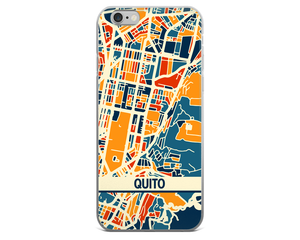 Quito Map Phone Case - Quito iPhone Case - iPhone 6 Case - iPhone 6 Plus Case