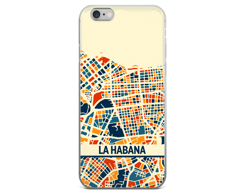 Havana Map Phone Case - Havana iPhone Case - iPhone 6 Case - iPhone 6 Plus Case