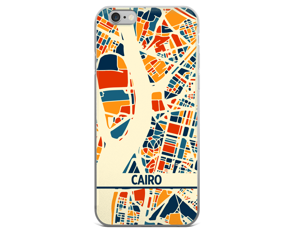 Cairo Map Phone Case - Cairo iPhone Case - iPhone 6 Case - iPhone 6 Plus Case