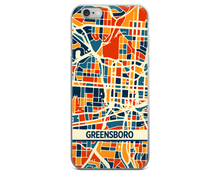 Greensboro Map Phone Case - Greensboro iPhone Case - iPhone 6 Case - iPhone 6 Plus Case