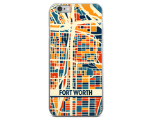 Fort Worth Map Phone Case - Fort Worth iPhone Case - iPhone 6 Case - iPhone 6 Plus Case