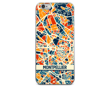 Montpellier Map Phone Case - Montpellier iPhone Case - iPhone 6 Case - iPhone 6 Plus Case