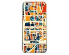 Omaha Map Phone Case - Omaha iPhone Case - iPhone 6 Case - iPhone 6 Plus Case