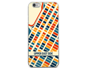 Upper East Side Map Phone Case - Upper East Side iPhone Case - iPhone 6 Case - iPhone 6 Plus Case