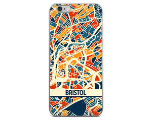 Bristol Map Phone Case - Bristol iPhone Case - iPhone 6 Case - iPhone 6 Plus Case