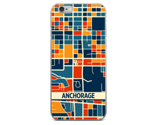 Anchorage Map Phone Case - Anchorage iPhone Case - iPhone 6 Case - iPhone 6 Plus Case
