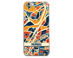 Mumbai Map Phone Case - Mumbai iPhone Case - iPhone 6 Case - iPhone 6 Plus Case