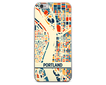 Portland Map Phone Case - Portland iPhone Case - iPhone 6 Case - iPhone 6 Plus Case