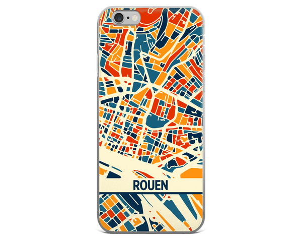 Rouen Map Phone Case - Rouen iPhone Case - iPhone 6 Case - iPhone 6 Plus Case