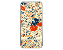 Athens Map Phone Case - Athens iPhone Case - iPhone 6 Case - iPhone 6 Plus Case