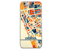 Liverpool Map Phone Case - Liverpool iPhone Case - iPhone 6 Case - iPhone 6 Plus Case