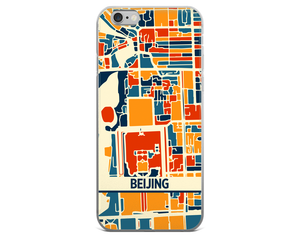 Beijing Map Phone Case - Beijing iPhone Case - iPhone 6 Case - iPhone 6 Plus Case