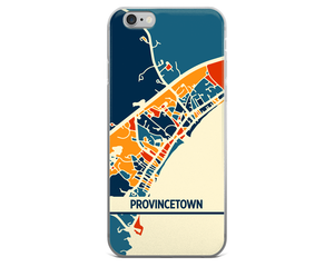 Provincetown Map Phone Case - Provincetown iPhone Case - iPhone 6 Case - iPhone 6 Plus Case