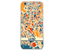 La Paz Map Phone Case - La Paz iPhone Case - iPhone 6 Case - iPhone 6 Plus Case