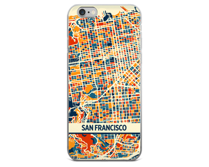 San Francisco Map Phone Case - San Francisco iPhone Case - iPhone 6 Case - iPhone 6 Plus Case
