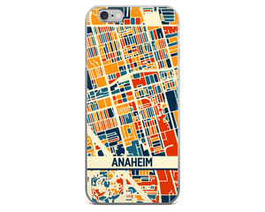 Anaheim Map Phone Case - Anaheim iPhone Case - iPhone 6 Case - iPhone 6 Plus Case