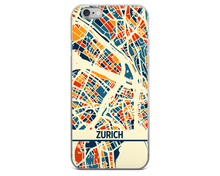 Zurich Map Phone Case - Zurich iPhone Case - iPhone 6 Case - iPhone 6 Plus Case