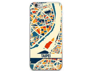 Taipei Map Phone Case - Taipei iPhone Case - iPhone 6 Case - iPhone 6 Plus Case