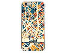Dallas Map Phone Case - Dallas iPhone Case - iPhone 6 Case - iPhone 6 Plus Case