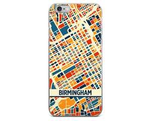 Birmingham AB Map Phone Case - Birmingham AB iPhone Case - iPhone 6 Case - iPhone 6 Plus Case