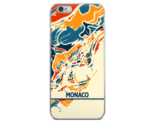 Monaco Map Phone Case - Monaco iPhone Case - iPhone 6 Case - iPhone 6 Plus Case