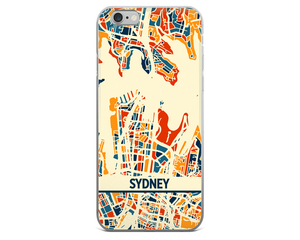 Sydney Map Phone Case - Sydney iPhone Case - iPhone 6 Case - iPhone 6 Plus Case