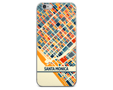 Santa Monica Map Phone Case - Santa Monica iPhone Case - iPhone 6 Case - iPhone 6 Plus Case