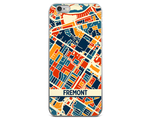 Fremont Map Phone Case - Fremont iPhone Case - iPhone 6 Case - iPhone 6 Plus Case