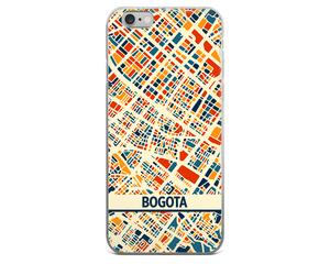 Bogota Map Phone Case - Bogota iPhone Case - iPhone 6 Case - iPhone 6 Plus Case