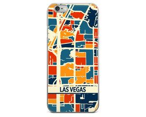 Las Vegas Map Phone Case - Las Vegas iPhone Case - iPhone 6 Case - iPhone 6 Plus Case