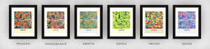 Dublin Map Print - Full Color Map Poster