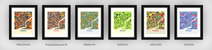 Toledo Ohio Map Print - Full Color Map Poster