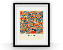 Berlin Map Print - Full Color Map Poster