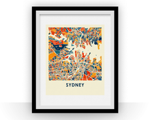 Sydney Map Print - Full Color Map Poster