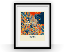 Boise Map Print - Full Color Map Poster
