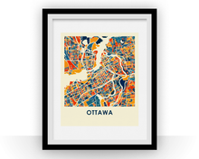 Ottawa Map Print - Full Color Map Poster