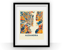 Alexandria VA Map Print - Full Color Map Poster
