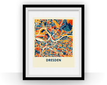 Dresden Map Print - Full Color Map Poster