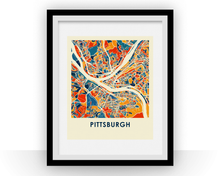 Pittsburgh Map Print - Full Color Map Poster