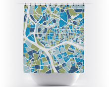 Guangzhou Map Shower Curtain - china Shower Curtain - Chroma Series
