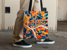 Guangzhou Map Tote Bag - China Map Tote Bag 15x15