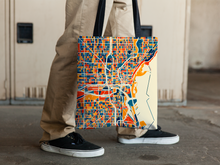 Milwaukee Map Tote Bag - Wisconsin Map Tote Bag 15x15