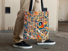 Madrid Map Tote Bag - Spain Map Tote Bag 15x15