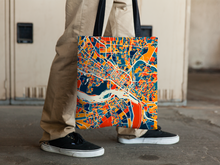 Richmond Map Tote Bag - Virginia Map Tote Bag 15x15