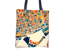 Toronto Map Tote Bag - To Map Tote Bag 15x15