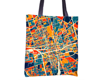 Stockton Map Tote Bag - California Map Tote Bag 15x15