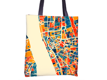 Liverpool Map Tote Bag - England Map Tote Bag 15x15