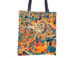 Rochester Map Tote Bag - New York Map Tote Bag 15x15